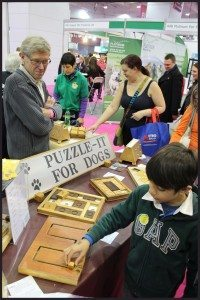 Dog Puzzles (not only for Dogs) at Discover Dogs 2014