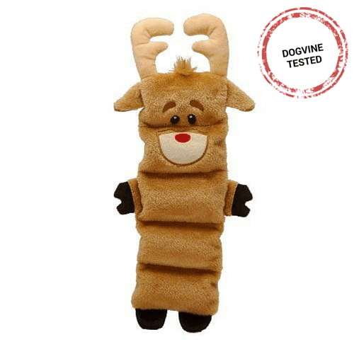 Christmas Dog Gifts - Reindeer Invincibles Toy