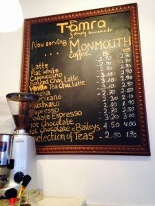 Dog Friendly Cafes in London - Cafe Tamra