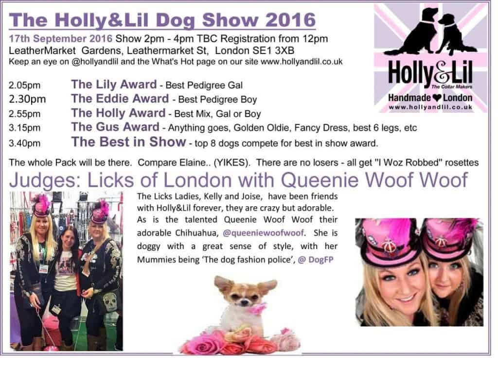 Bermondsey Street Festival Dog Show
