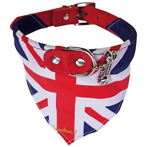 Pet London Brit Bandana and Collar - Patriotic Pooch