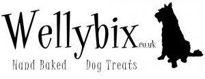 Wellybix Dog Biscuits Banner