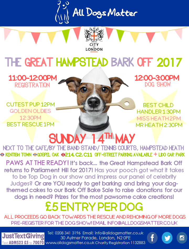 Great Hampstead Bark Off 2017