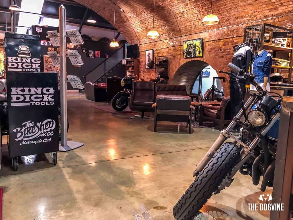 Dog-Friendly Shoreditch Mutts and Motorcycles At The Bike Shed 26