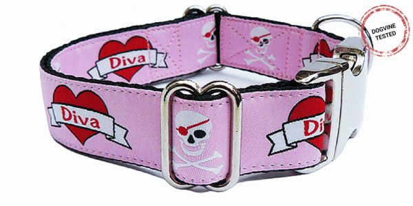 Christmas Dog Gifts -Diva Dog Collar