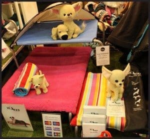 HiK9 Dog Beds at Discover Dogs 2014