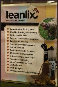 Leanlix Dog Treats at Discover Dogs 2014