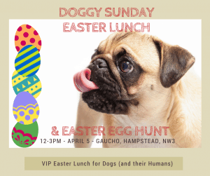 Easter Doggy Sunday at Gaucho