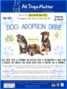 All Dogs Matter Adoption Drive