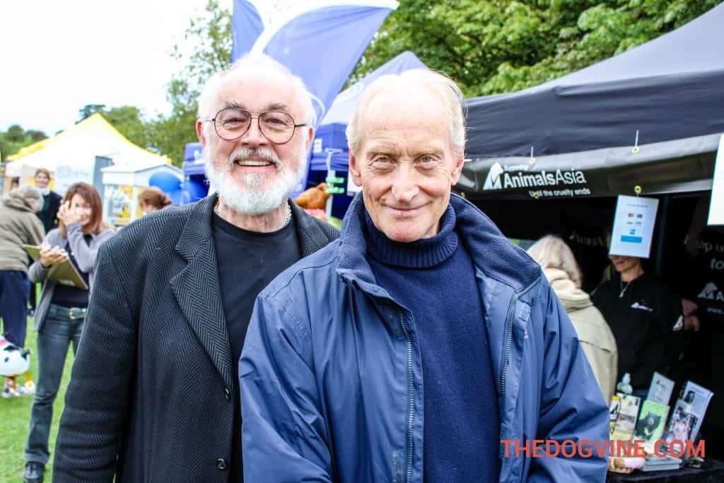 Peter Egan and Charles Dance at PupAaid 2015