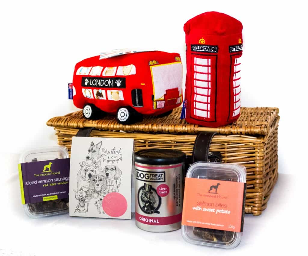 The Artisan Pet Deli Best of British Hamper - Patriotic Pooch