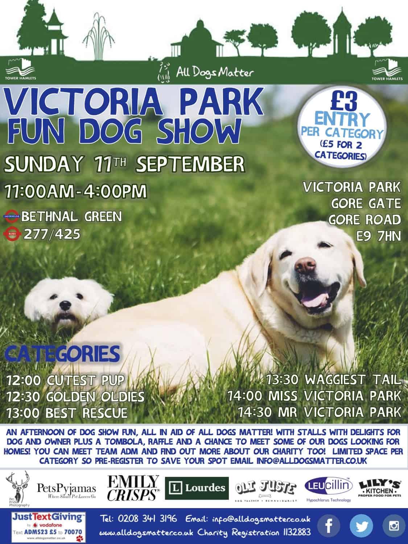 Victoria Park Dog Show 2016