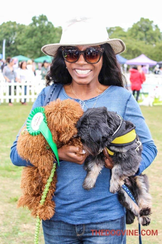 Pup Aid - Sinitta Judges Dog Show (2)