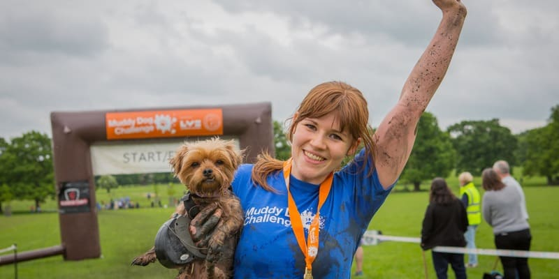London Dog events - muddy-dog-challenge-2017