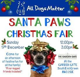 All Dogs Matter Santa Paws. - New Date