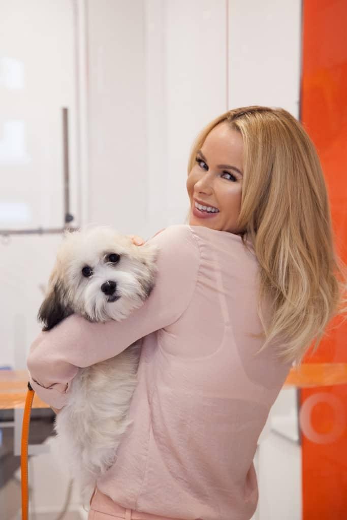 Amanda Holden Buddy Bow Wow London Dog Grooming Launch_3