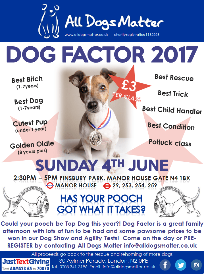 Dog Factor 2017 Poster