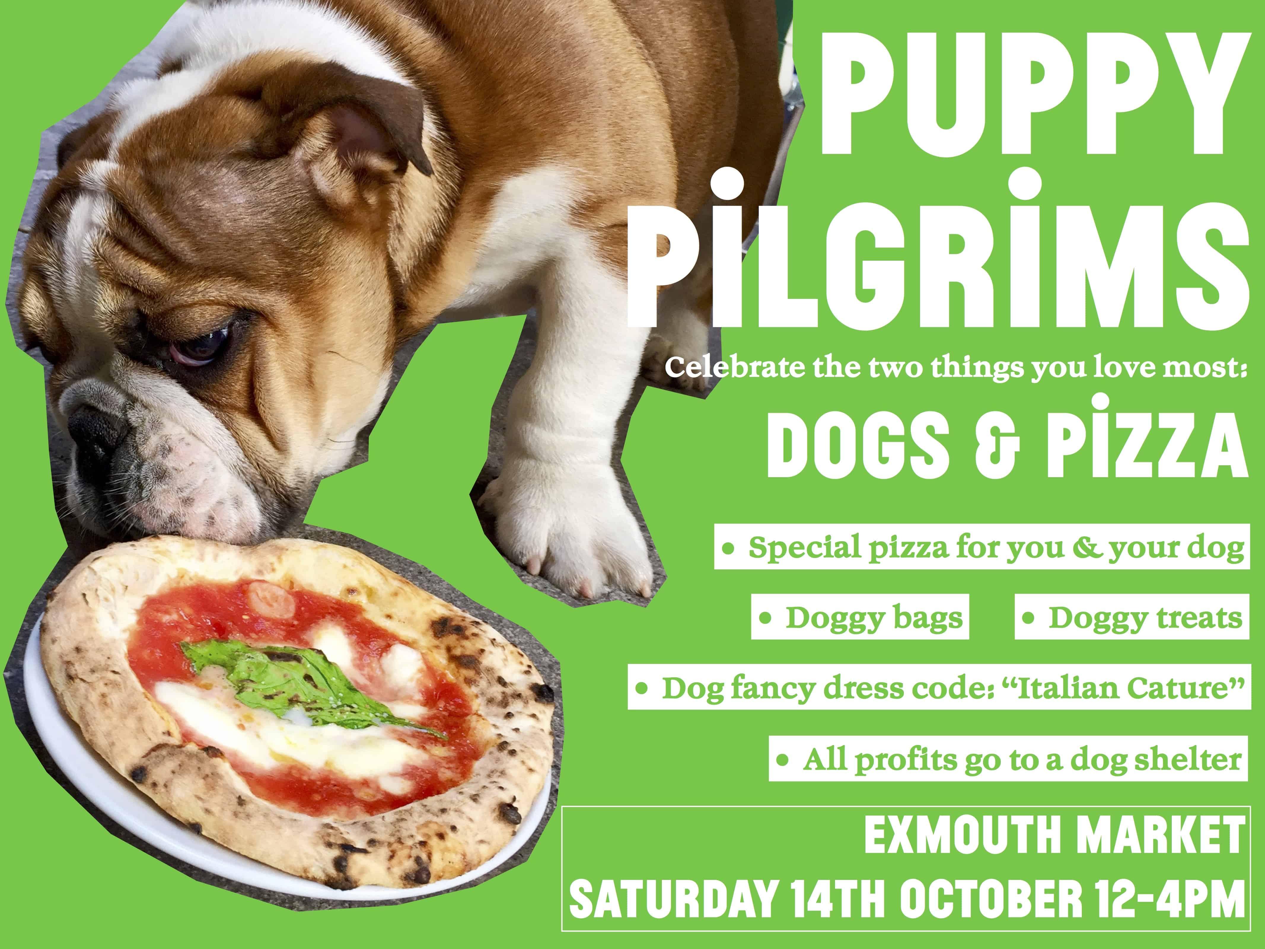 puppy pilgrims poster