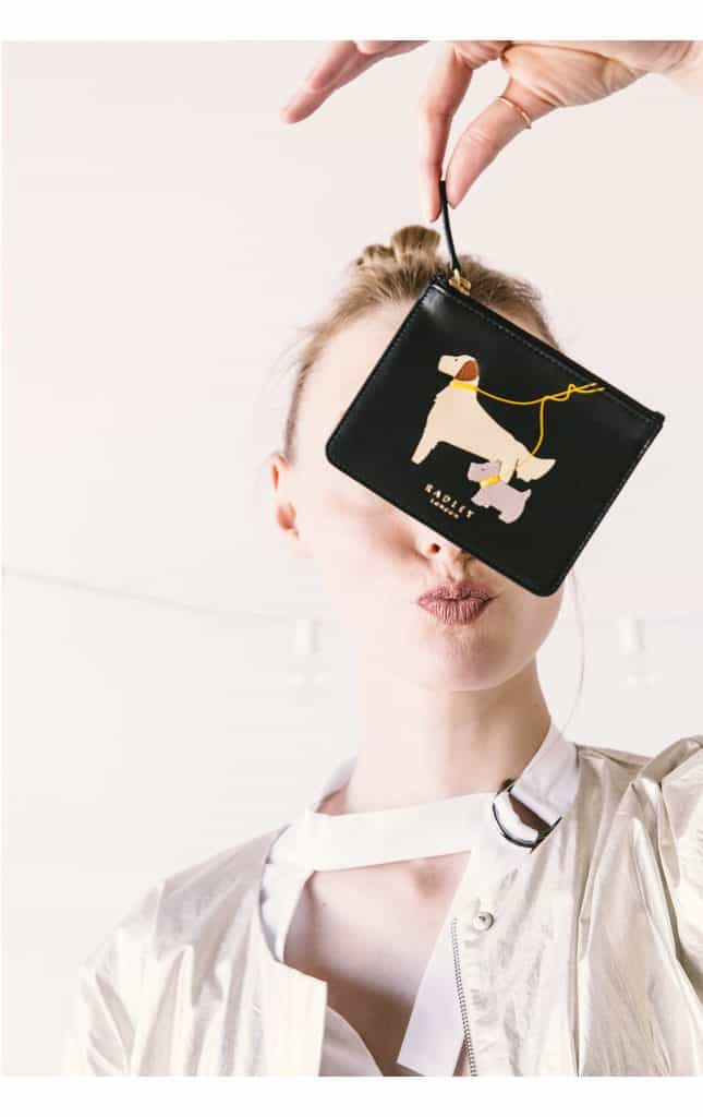 Gifts That Give Back Radley-dogs-trust-small-black-leather-coin-purse-golden-retriever