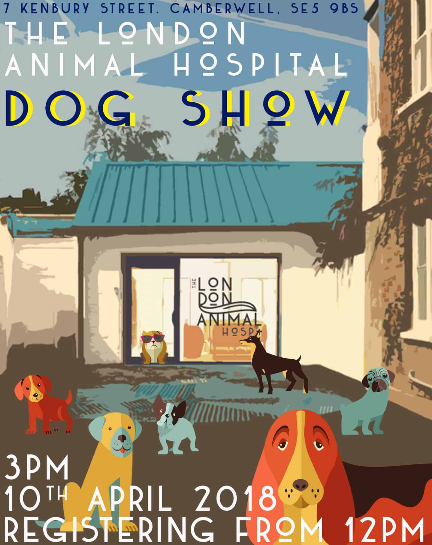 London Dog Events - The London Animal Hospital 1st Birthday Party & Dog Show 2