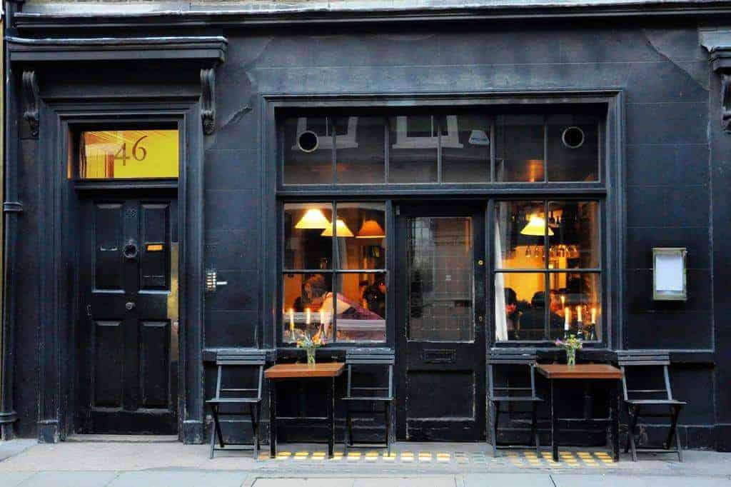Andrew Edmunds Restaurant