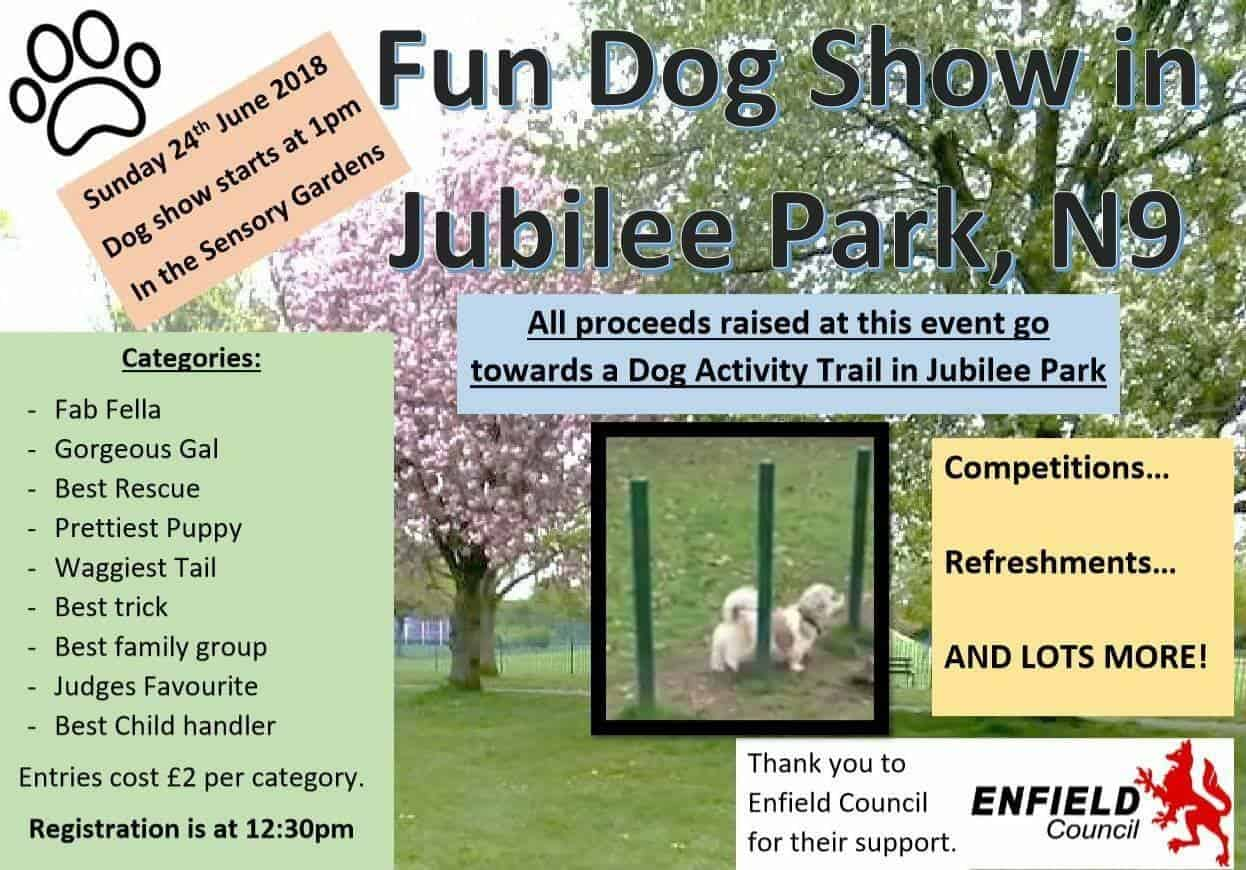 London Dog Shows - Jubliee Park Fun Dog Show - London Dog Events