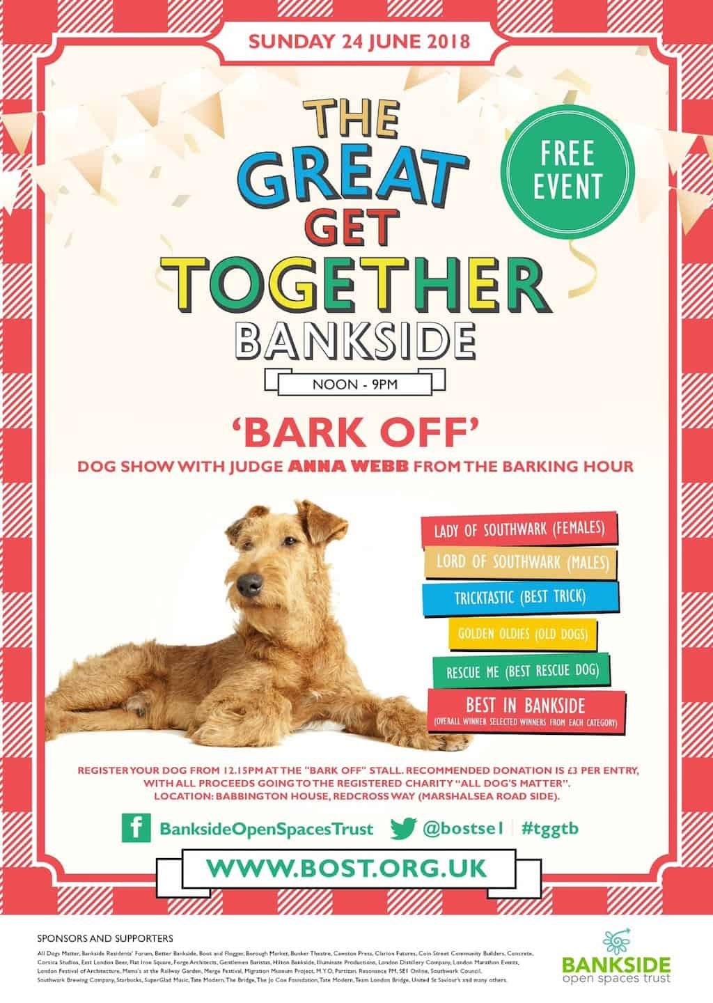 London Dog Shows - The Great Get Together Bark Off Dog Show