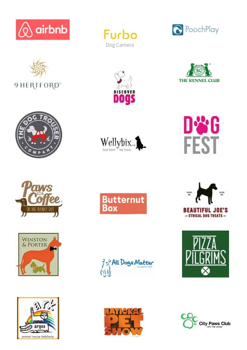 The Dogvine - Work With Us - Brands We've Worked With