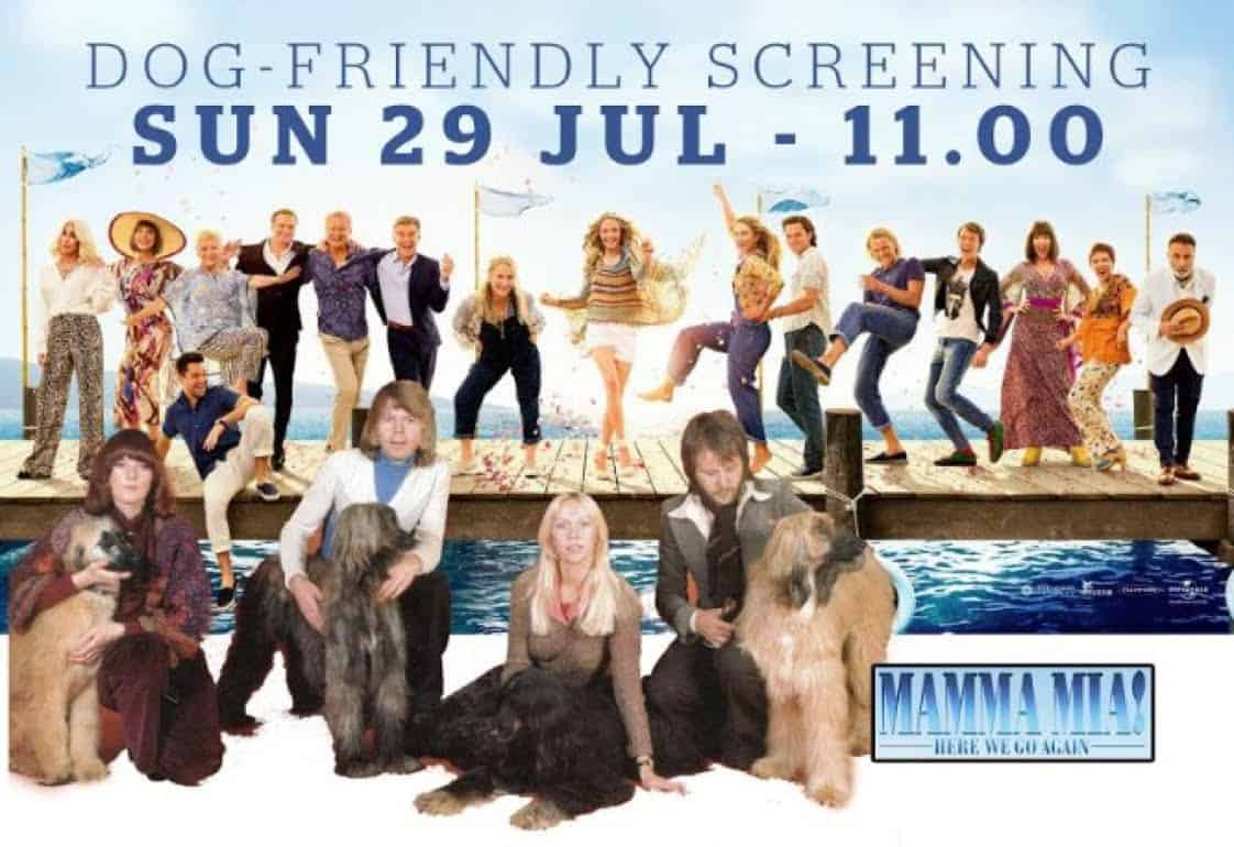 London Dog Events Dog Friendly Cinema Picturehouse Clapham Mamma Mia