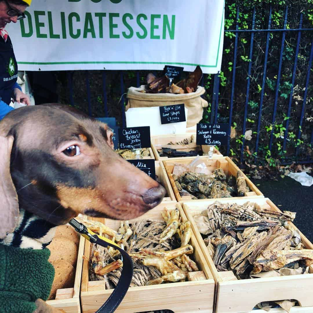 My Dog Friendly London by Pops the Sausage - Victoria Park Market Instagram