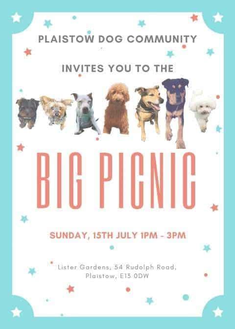 Plaistow Dog Community Big Picnic - London Dog Events