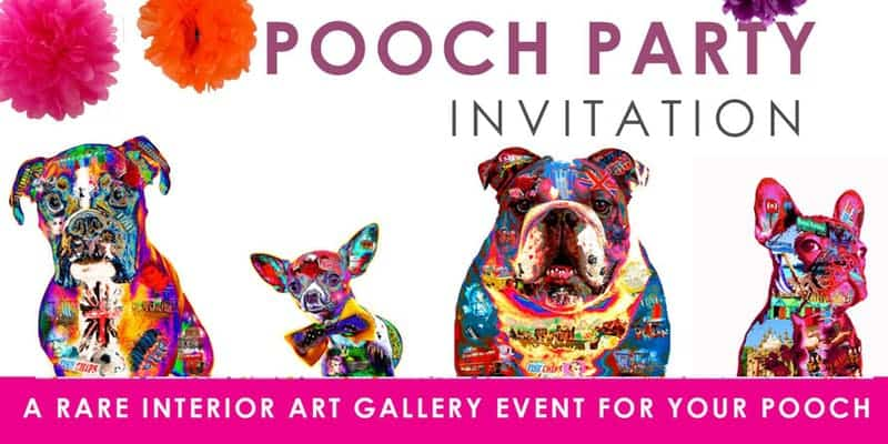 Pooch Party Art Gallery Event - London Dog Events