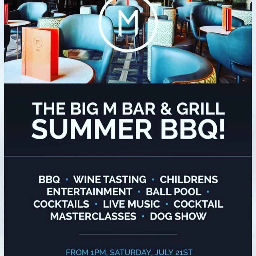 The Big M Bar & Grill BBQ and Dog Show