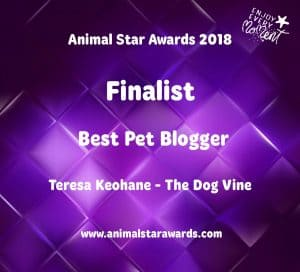 Best Pet Blogger Finalist Animal Star Awards