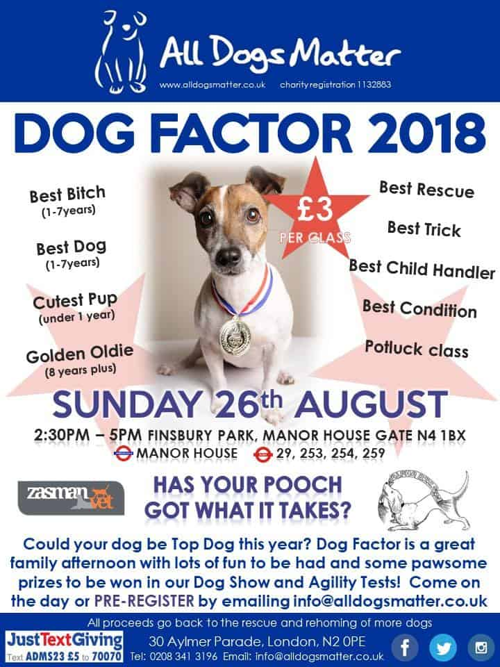 Dog Factor 2018 (New Date)