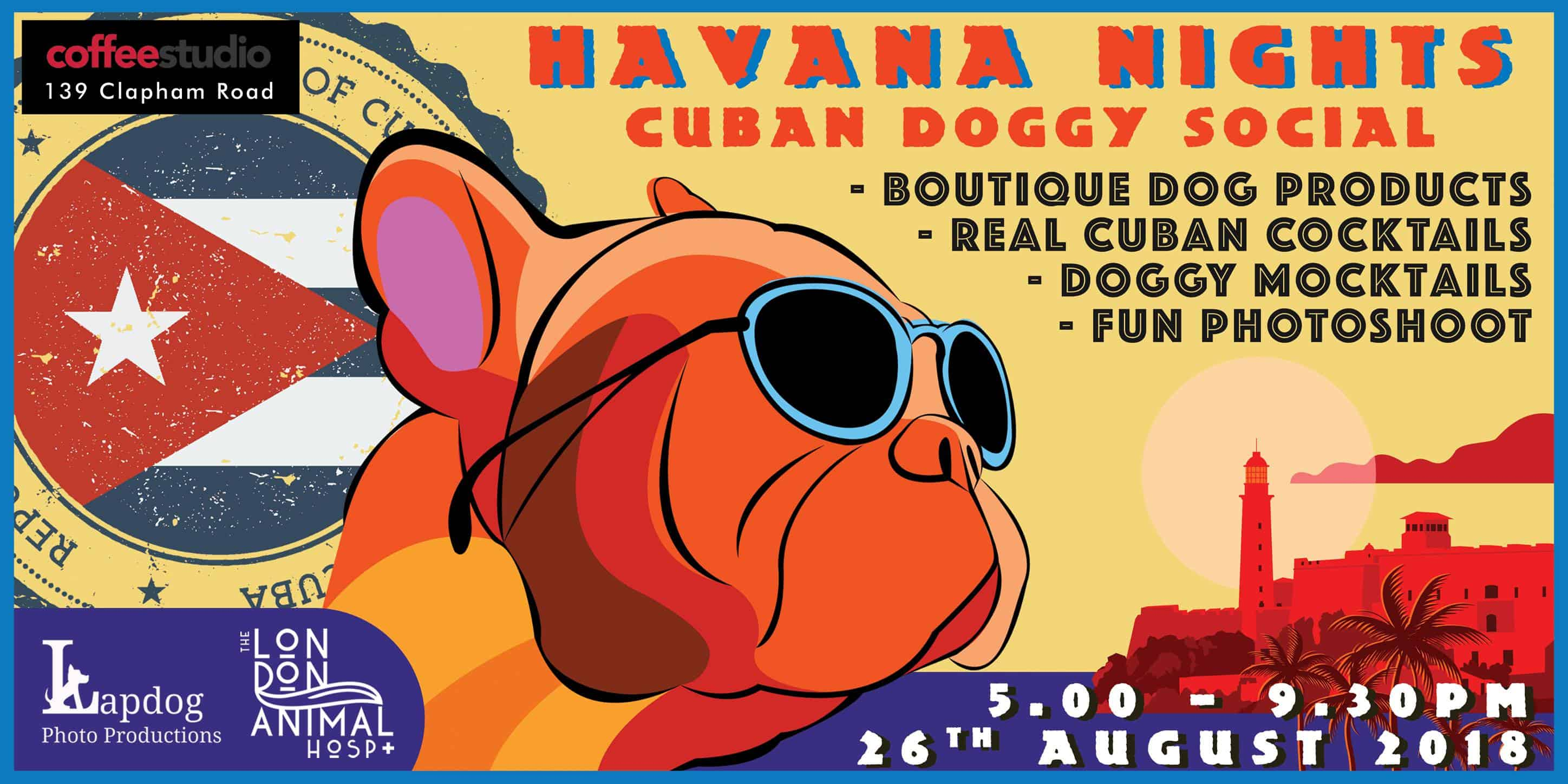 Havana Nights Cuban Themed Pooch Party