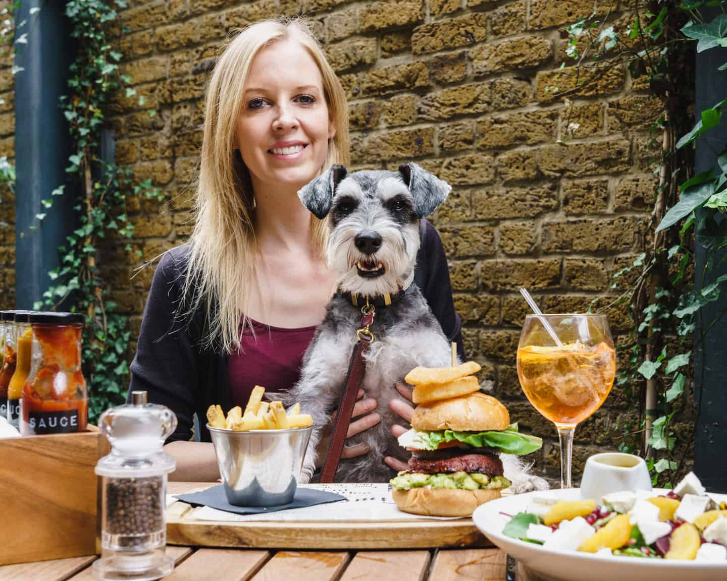 My Dog Friendly London By Rusty Red The Schnauzer | Dog Friendly Shoreditch and Hoxton Bike Shed 2