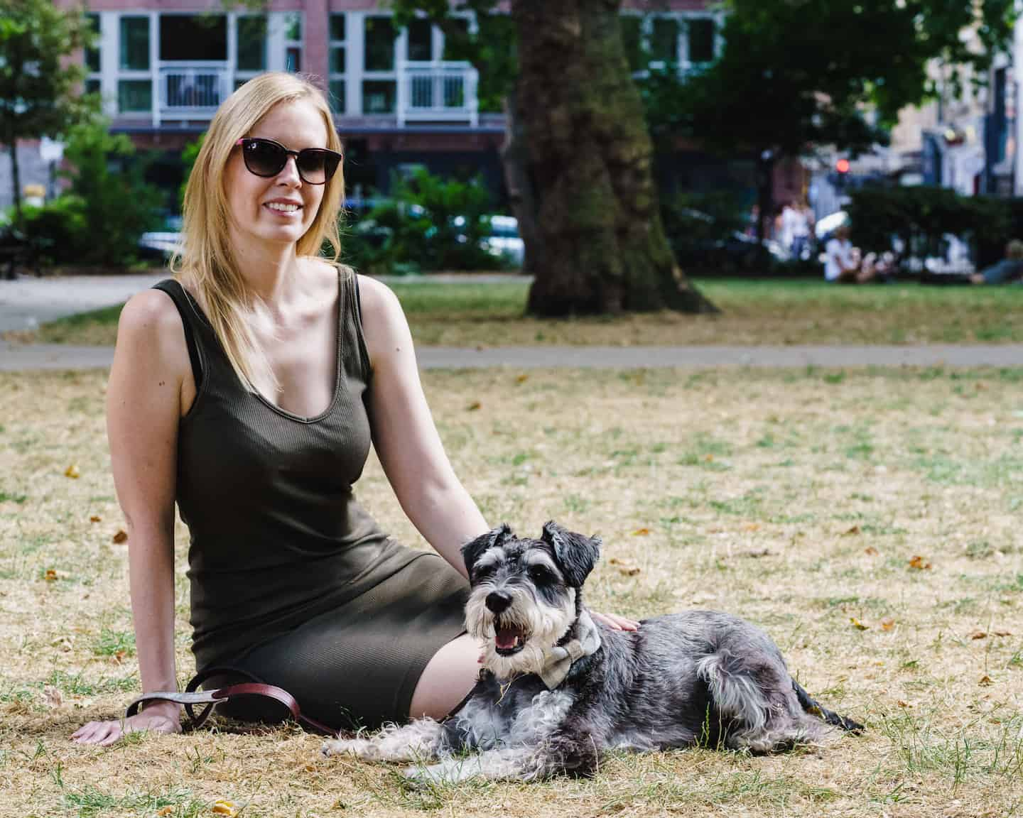 My Dog Friendly London By Rusty Red The Schnauzer | Dog Friendly Shoreditch and Hoxton Victoria Park