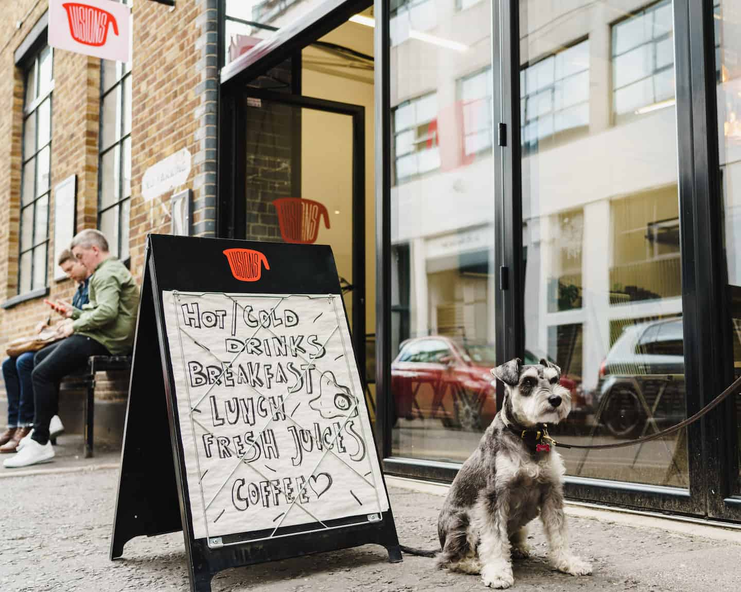 My Dog Friendly London By Rusty Red The Schnauzer | Dog Friendly Shoreditch and Hoxton Visions Canteen 3