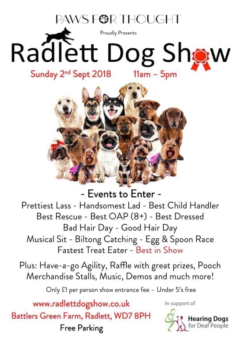 Radlett Dog Show