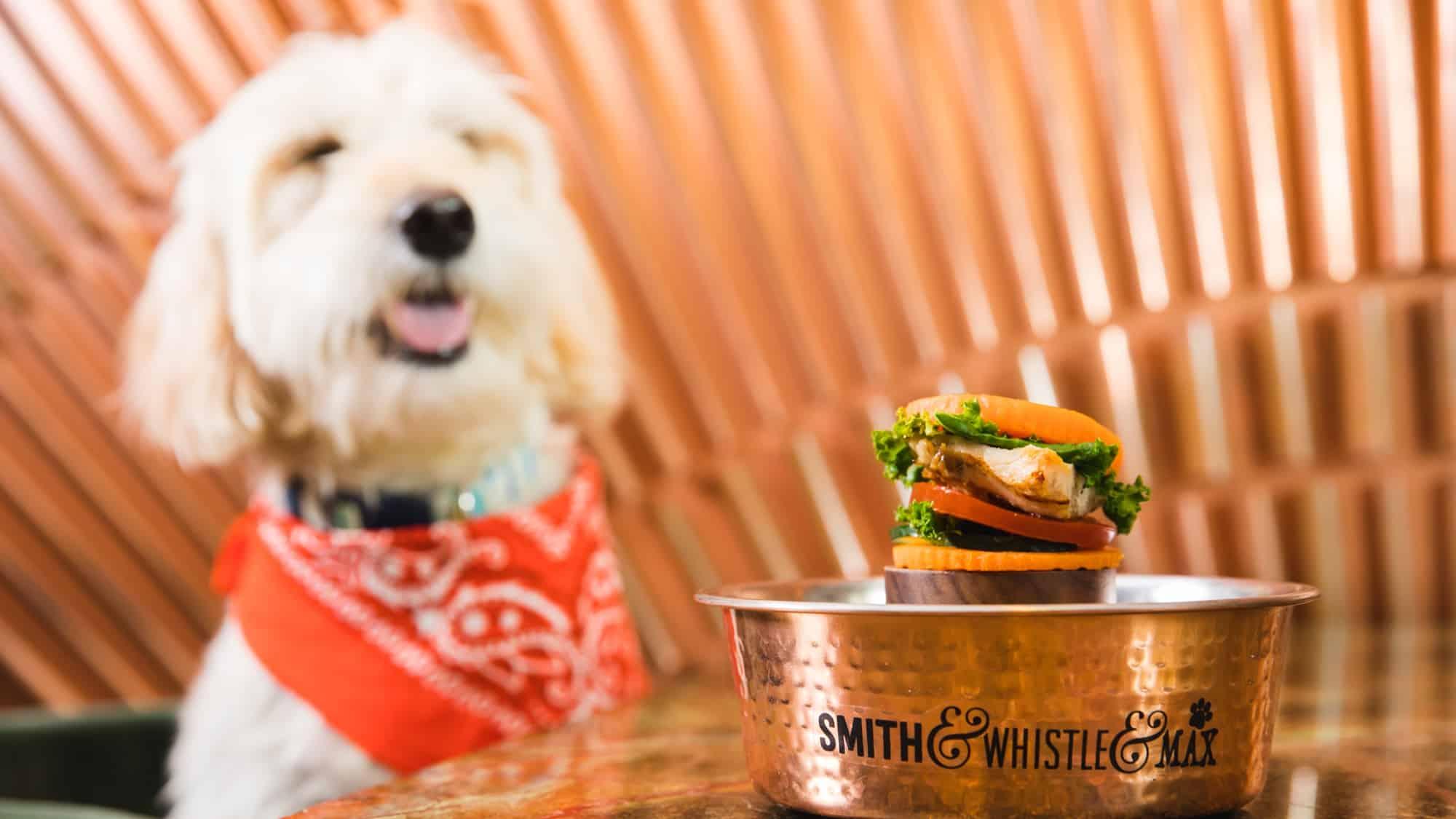 Smith & Whistle Dog Burger Weekend Celebrating National Burger Day & National Dog Day