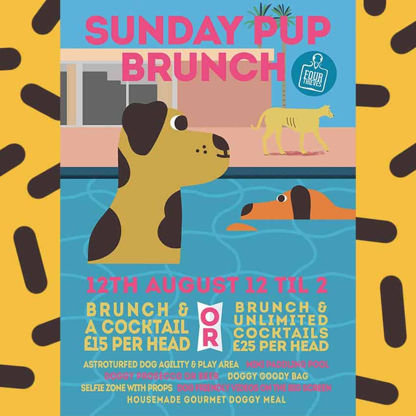 Sunday Pup Brunch at The Four Thieves