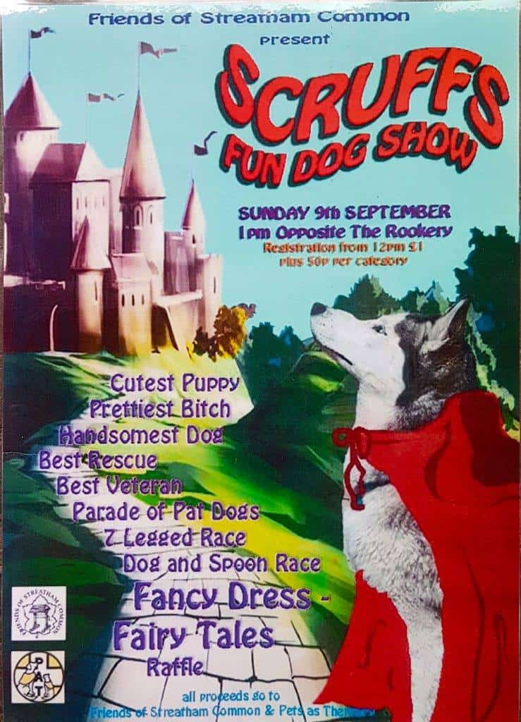 Scruffs Dog Show on Streatham Common