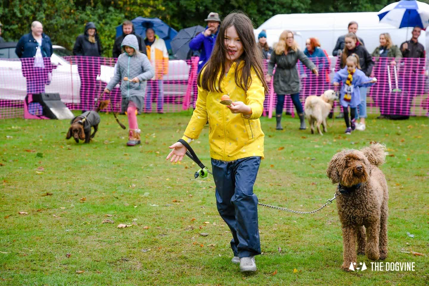 The Chiswick House Dog Show Egg and Spoon 1