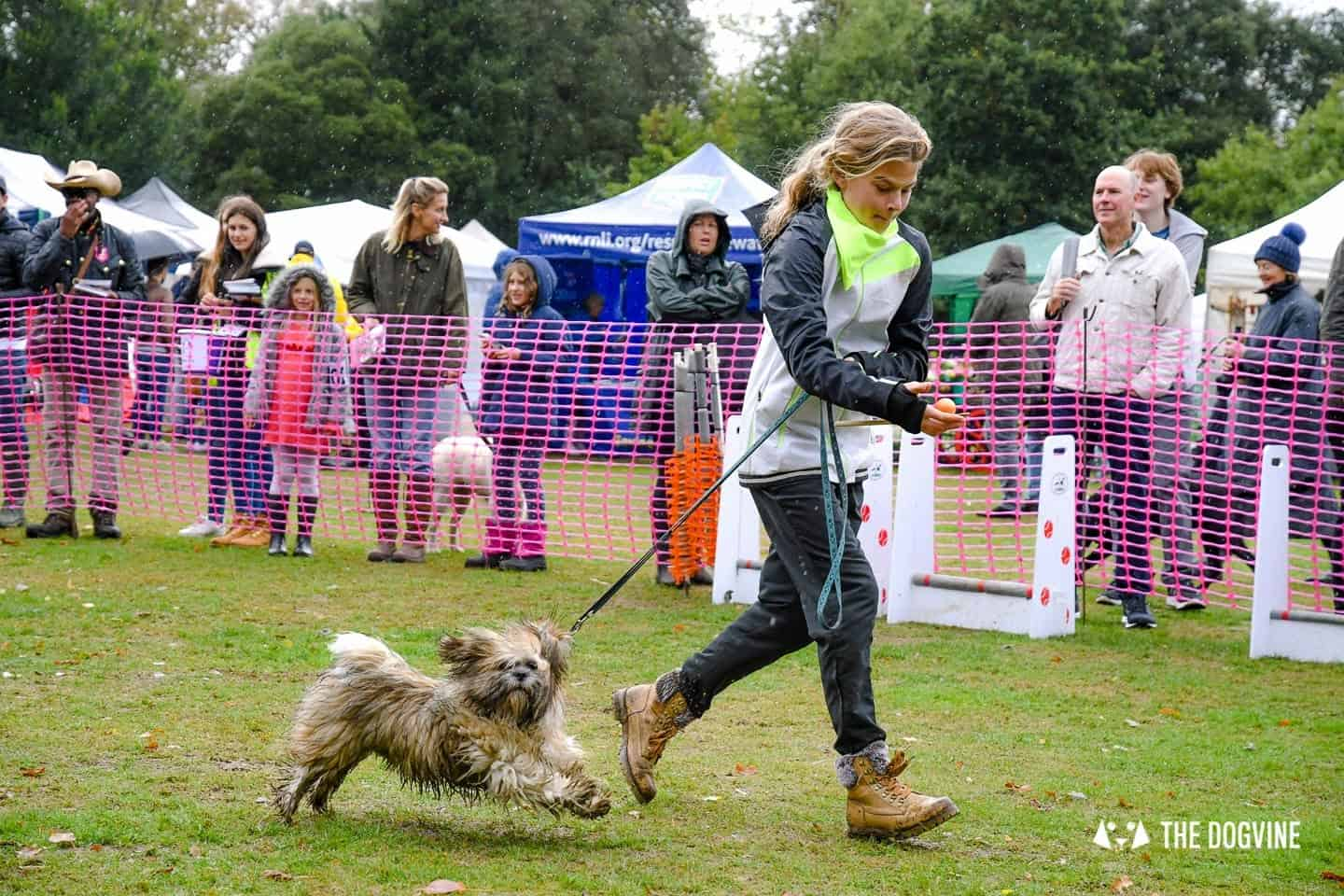 The Chiswick House Dog Show Egg and Spoon 7
