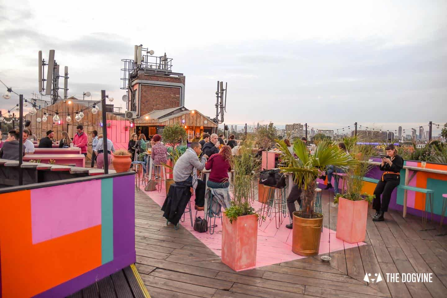 Your London Dog Events Agenda for 14-16 September - Dog-friendly Bussey Rooftop Bar