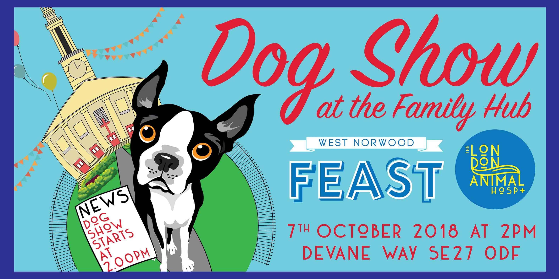 West Norwood Feast Dog Show Flyer