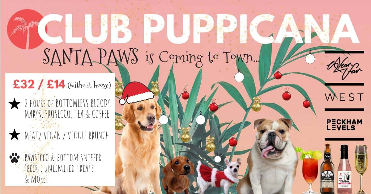 Club Puppicana Santa Paws is coming to Town