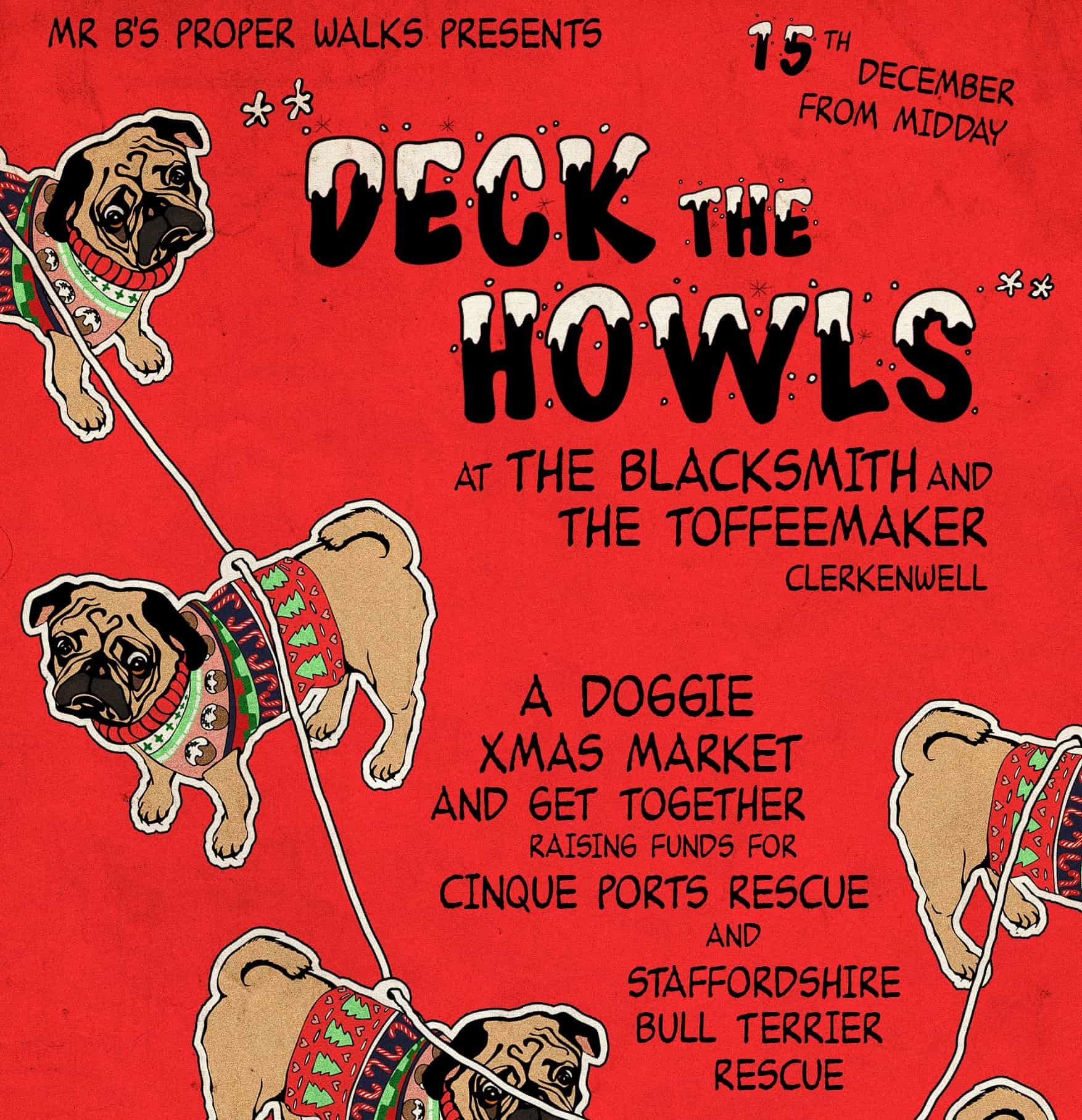 Deck The Howls Event
