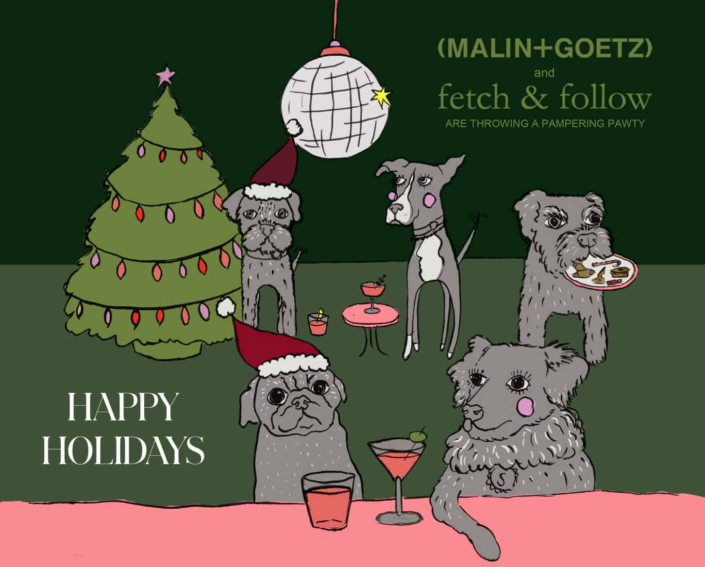 Fetch & Follow Festive Pamper Party